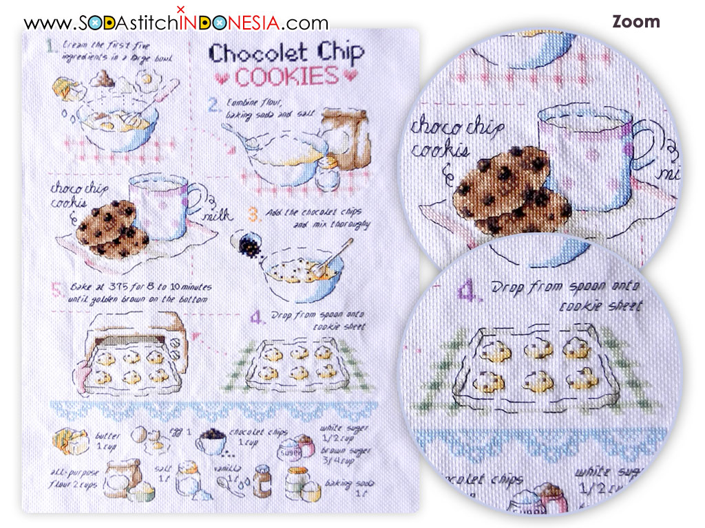 Sodastitch Indonesia FIN-SO-G41 - Finished Recipe Book