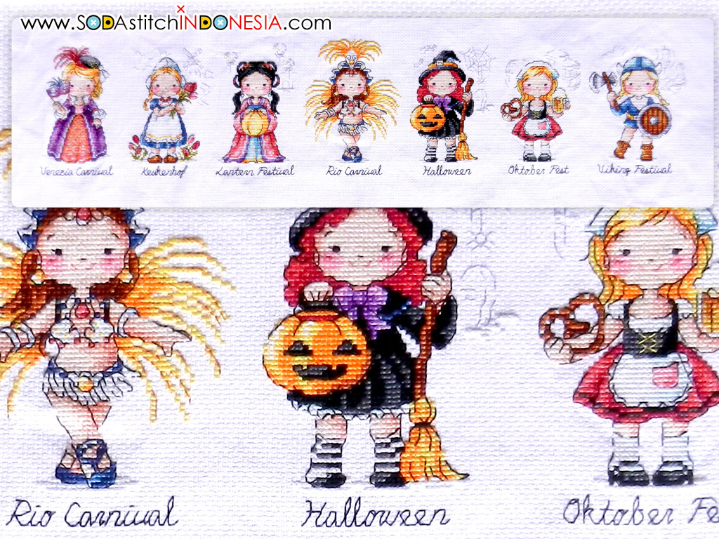 Sodastitch Indonesia FIN-SO-G43 - Finished World Festival (Girl)