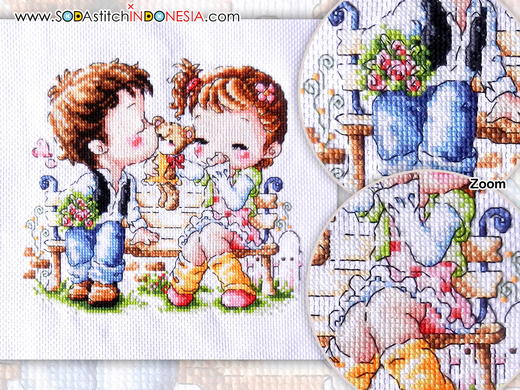 Sodastitch Indonesia FIN-SR-B64 - Finished Romantic Love