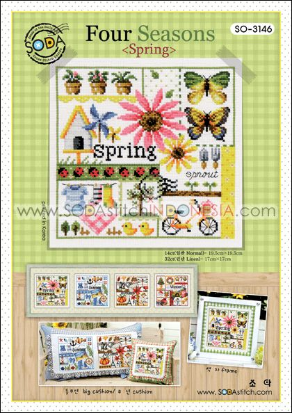 Sodastitch Indonesia PKT-SO-3146 - Paket Four Seasons (Spring)