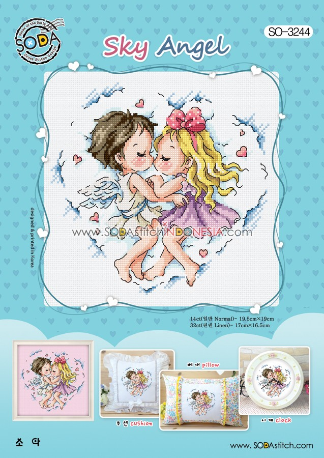Sodastitch Indonesia PKT-SO-3244 - Paket Sodastitch - Paket Sky Angel