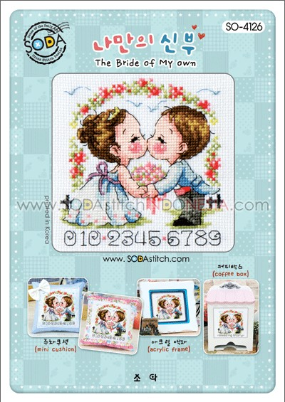Sodastitch Indonesia PKT-SO-4126 - Paket The Bride Of My Own