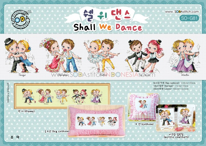 Sodastitch Indonesia PKT-SO-G81 - Paket Shall We Dance