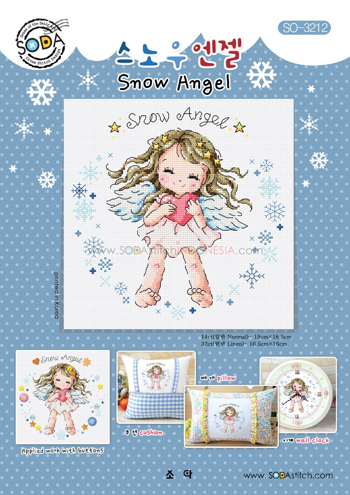 Sodastitch Indonesia SO-3212 - Snow Angel