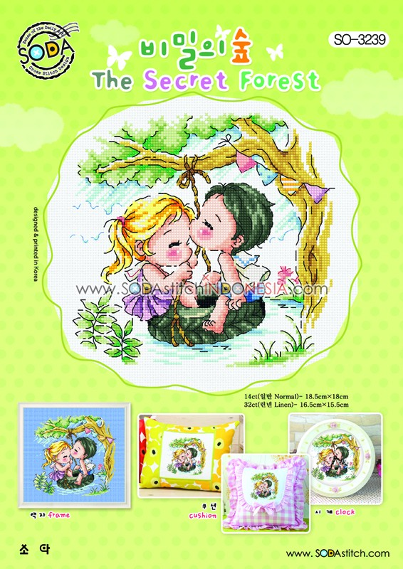 Sodastitch Indonesia SO-3239 - The Secret Forest