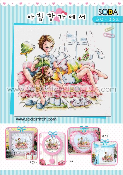 Sodastitch Indonesia SO-362 - Pola Sodastitch - By The Window In The Morning