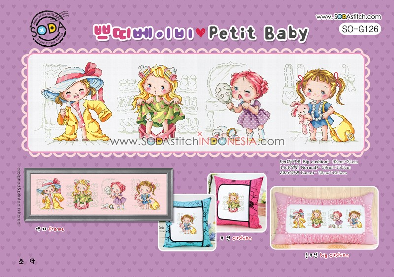 Sodastitch Indonesia SO-G126 - Petit Baby