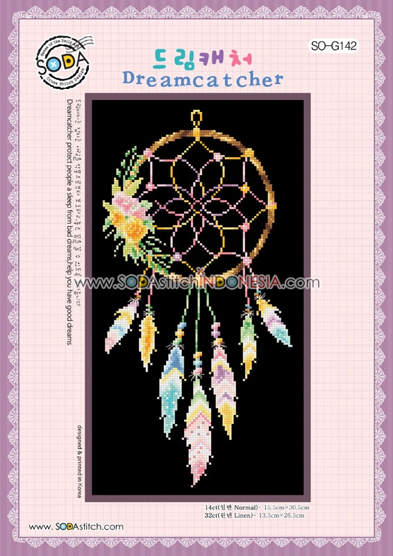 Sodastitch Indonesia SO-G142 - Dreamcatcher