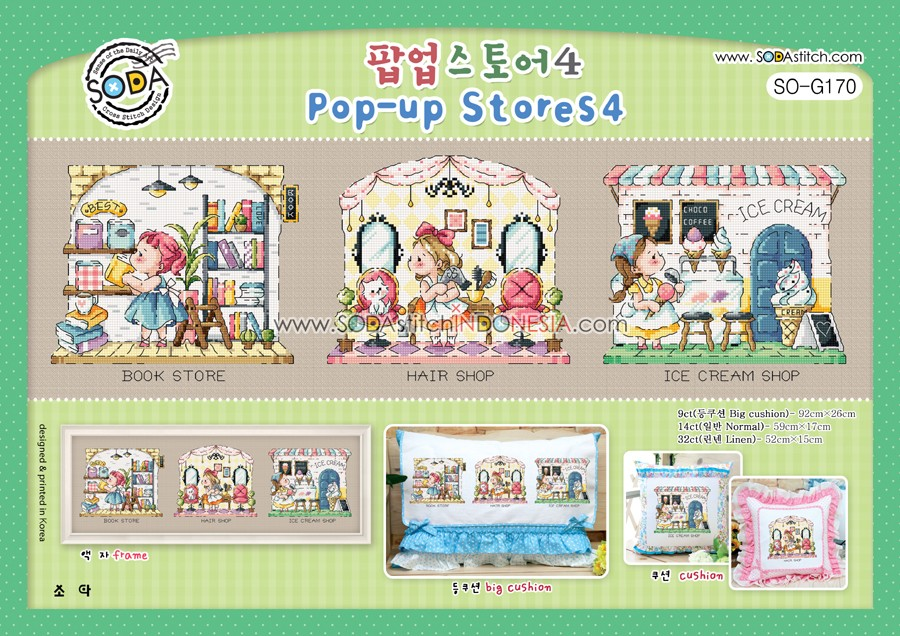Sodastitch Indonesia SO-G170 - Pola Sodastitch - Pop Up Stores 4
